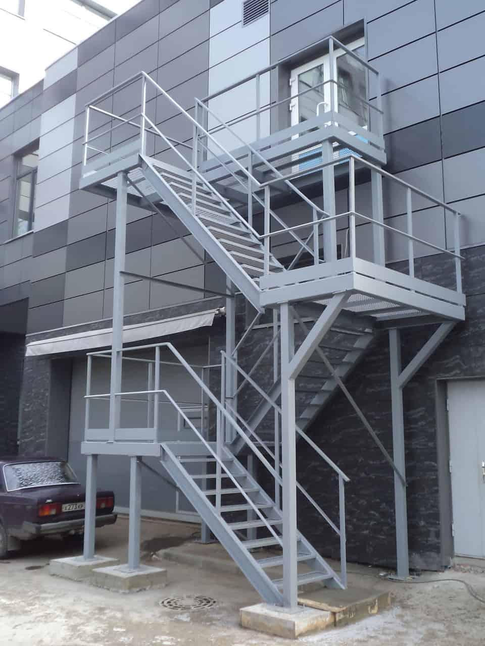 пожарные лестницы